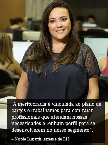 Nicole Lunardi, gerente de RH da DBG